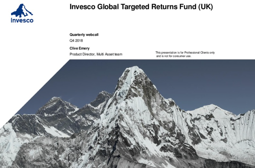 Invesco Global Targeted Returns Fund (UK) – Q4 2018 review